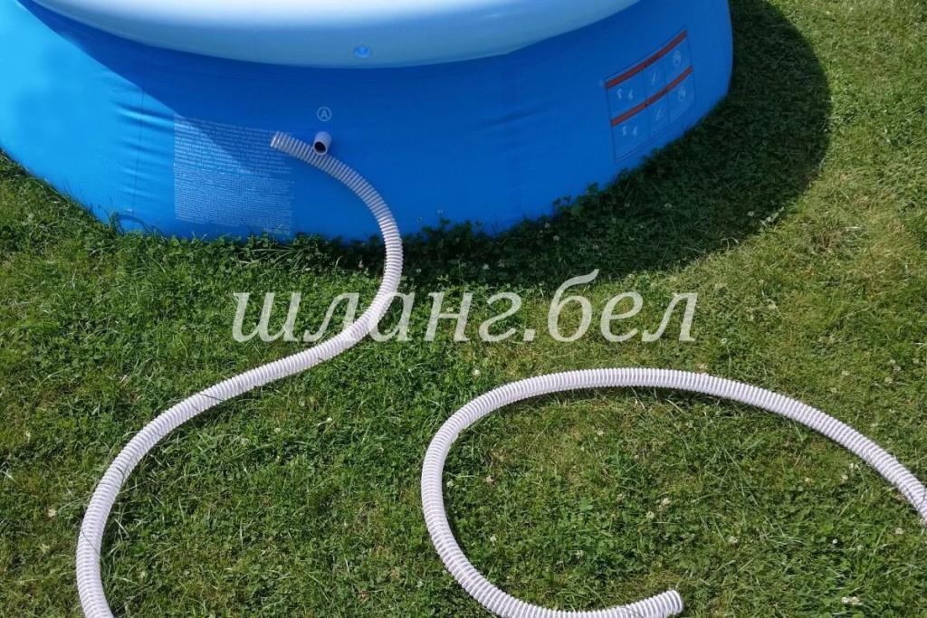 гофрированный дренажный шланг для басейна